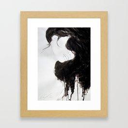 moonbird Framed Art Print