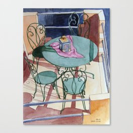 Table for Four Canvas Print