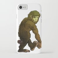 bigfoot iPhone & iPod Cases featuring Bigfoot by JoJo Seames