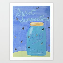 Sweet Summertime Art Print