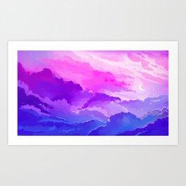 Bi Pride Art Print