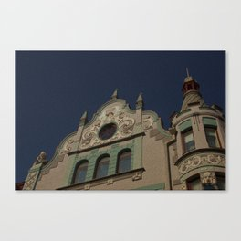 Architecture Of Tallinn Canvas Print