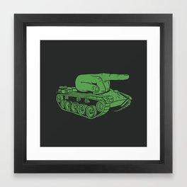 @#$% WAR! Framed Art Print