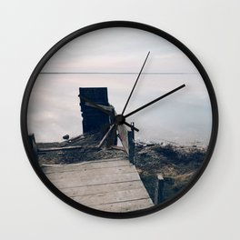 BLUE MOON XXI / Alviso, California Wall Clock