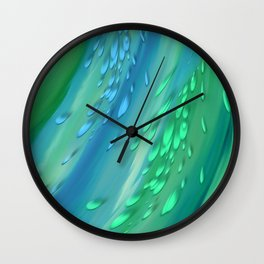 Joyful flow Wall Clock