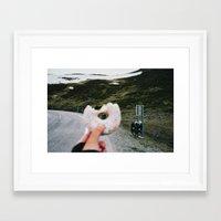 doughnut Framed Art Prints featuring Doughnut by A. Serdyuk