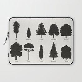 European Tree Species Laptop Sleeve