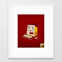 "mac Framed Art Prints featuring ""MAC"" Donalds by Chris Dk"