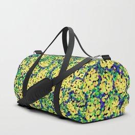 Multicolor mosaic pattern Duffle Bag