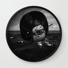 Water Goddess #3 Wall Clock