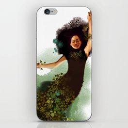 Flying Mina iPhone Skin