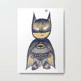 Mini Bat Metal Print