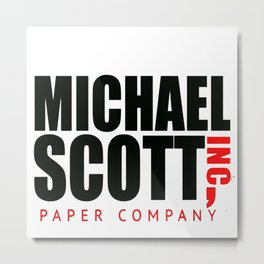 Michael scott Metal Print