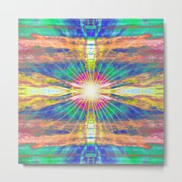 Fission Metal Print