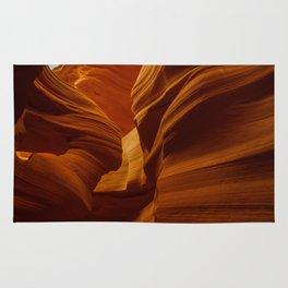 Girl Image in Antelope Canyon Rug