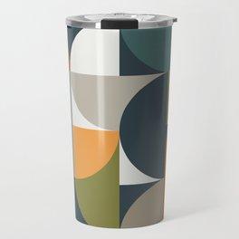 Mid Century Geometric 12/2 Travel Mug