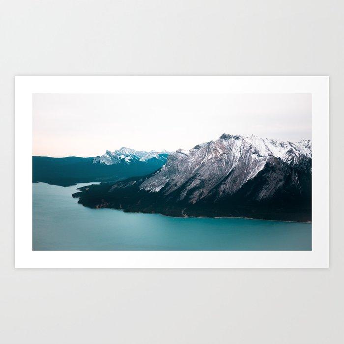 Abraham Lake, Alberta Art Print