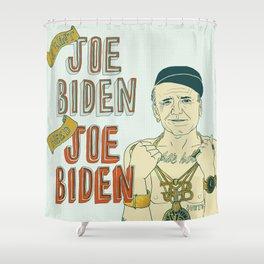 Joe Biden Shower Curtain