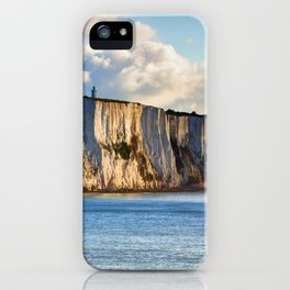 #Cretaceous #Rocks of #Dover #seaside iPhone Case