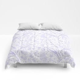 Mermaid Toile - Lavender Comforters