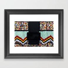Beads Framed Art Print