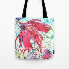 Sakura Japanese Painting Tote Bag