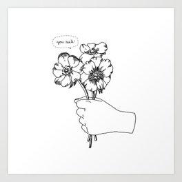 Poppy's whisper / Illustration Art Print