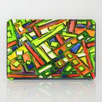 oakland iPad Cases featuring Uptown Oakland by Octavious Sage
