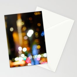 '42nd STREET'S BRIGHT LIGHTS' Stationery Cards