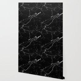 modern black marble look Wallpaper