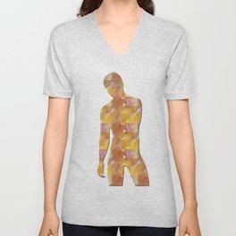 Male Figure Unisex V-Neck