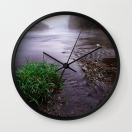 River time Wall Clock