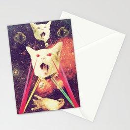 galactic Cats Saga 4 Stationery Cards