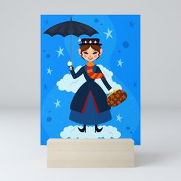 Mary Poppins Mini Art Print