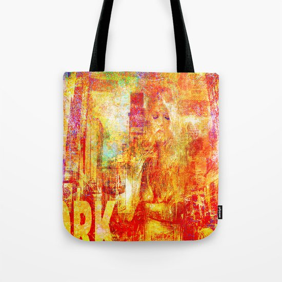 Girl in New-York  Tote Bag