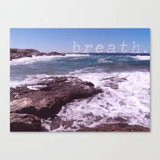 breath Canvas Print