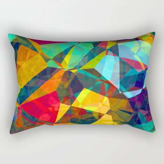 color color 100 Rectangular Pillow