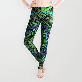 Hippie mandala 44 Leggings