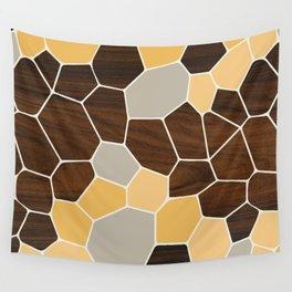 Geode in Orange Wall Tapestry