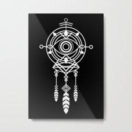 Cosmic Dreamcatcher Metal Print
