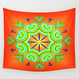 Symmetric composition 36 Wall Tapestry