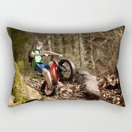 Where we're going we don't need roads Rectangular Pillow
