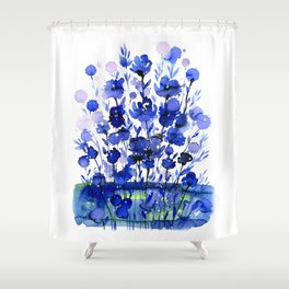 Floral Charm No.1by Kathy Morton Stanion Shower Curtain