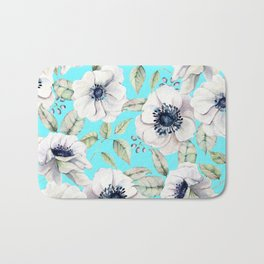 FLORAL GARDEN - FLOWERS Bath Mat