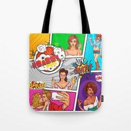 BaBBs Comic Tote Bag