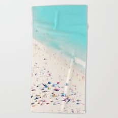 beach love III square Beach Towel