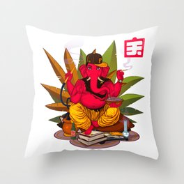 Foreign Soil Throw Pillow