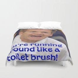 Toilet Brush? Duvet Cover