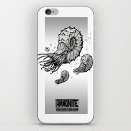 ammonite iPhone Skin