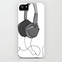 Audio iPhone Case